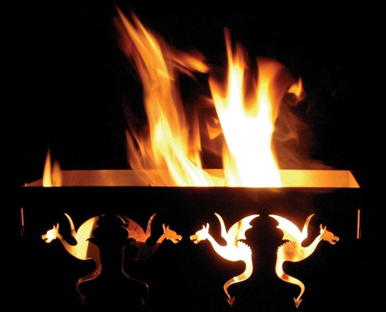 Draken Vuurkorf Classic van Maandag Meubels - Leelant ... Leelant Haardhout